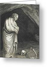 Galen, Greek Physician And Philosopher Greeting Card