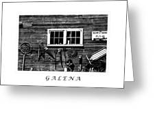 Galena Antiques Greeting Card