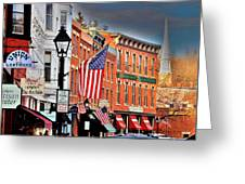 Galena On A Perfect Day Greeting Card