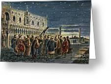 Galileo Galilei, 1564-1642 Greeting Card