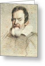 Galileo Galilei Greeting Card