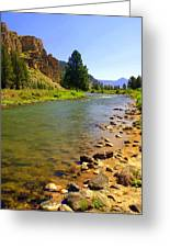 Gallitan River 1 Greeting Card