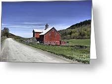 Gallop Road Barn Greeting Card