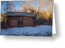 Galloway Homestead Cabin Greeting Card