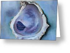 Galveston Oyster Shell Greeting Card