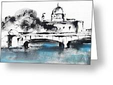 Galway - Monochromatic  Greeting Card