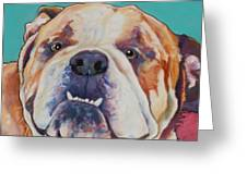 Game Face   Greeting Card
