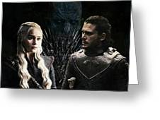 Game Of Thrones. Greeting Card