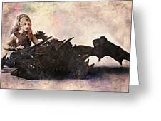 Game Of Thrones. Daenerys. Mother Of The Dragons. Greeting Card