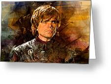Game Of Thrones. Tyrion Lannister. Greeting Card