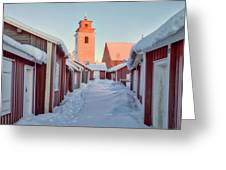 Gammelstad Lulea - Sweden Greeting Card