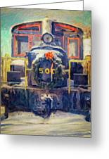 Gananoque Train Holiday Cheer Greeting Card