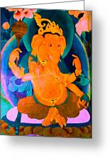 Ganapati 4 Greeting Card