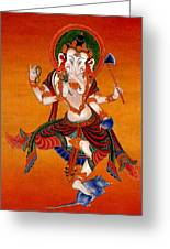 Ganapati   7 Greeting Card