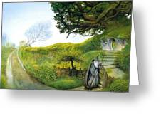 Gandalf Houses Tolkien The Magician Greeting Card
