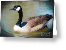 Gander At A Goose Greeting Card