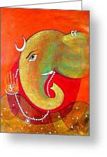 Ganesha 5 Greeting Card