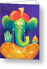 Ganesha 9 Greeting Card