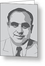 Gangster - Al Capone Greeting Card