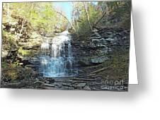 Ganoga Falls 3 - Ricketts Glen Greeting Card