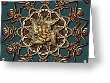 Ganpati Mandala  Greeting Card
