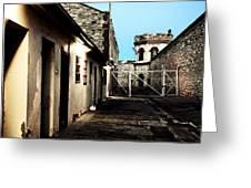 Gaol Greeting Card