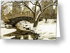Gapstow Bridge Greeting Card