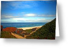 Garapata State Park South Of Monterey Ca Seven Greeting Card