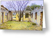 Garden Apartment Greeting Card