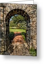 Garden Archway Greeting Card