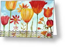 Garden Beauty-jp2960b Greeting Card