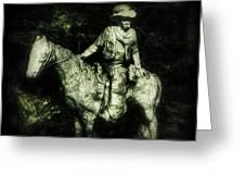 Garden Cowboy Greeting Card