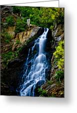 Garden Creek Falls Greeting Card