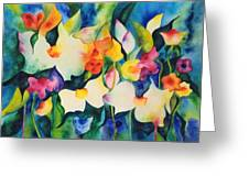 Garden Dance Greeting Card
