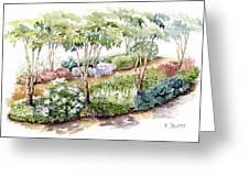 Garden, Dark Side Greeting Card