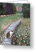 Garden Delights I Greeting Card