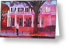 Garden District Greeting Card