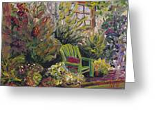 Garden Escape Greeting Card
