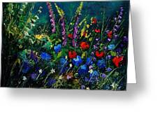 Garden Flowers 56 Greeting Card