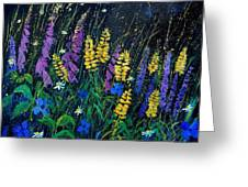 Garden Flowers 679080 Greeting Card