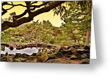 Garden For The Ones Of Flight - Deep Cut Gardens Greeting Card