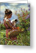 Garden Gatherings Greeting Card