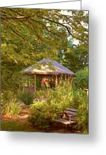 Garden Gazebo Greeting Card