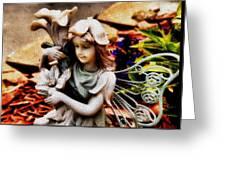 Garden Girl Greeting Card