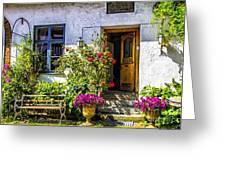 Garden House Greeting Card