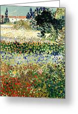 Garden In Bloom Greeting Card