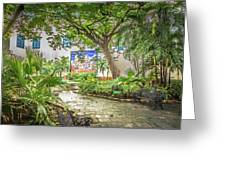 Garden In The Square Greeting Card