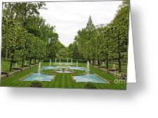 Italian Fountains Of The Garden Greeting Card