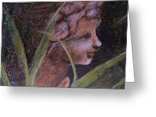 Garden Nymph Greeting Card
