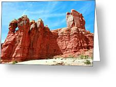 Garden Of Eden Arches National Park, Utah Usa Greeting Card